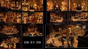 De regisseur heeft vele cameraposities om uit te kiezen (foto: Metropolitan Opera).