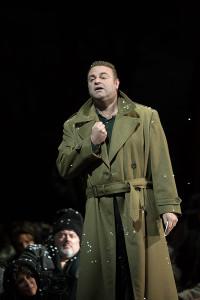 Joseph Calleja als Macduff (foto: Marty Sohl / Metropolitan Opera).