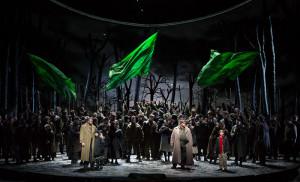 Scène uit Macbeth (foto: Marty Sohl / Metropolitan Opera).