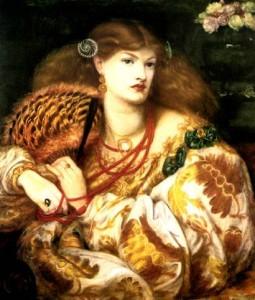 Monna Vanna, geschilderd door Dante Rosetti.