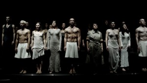 Scène uit De Soprano's (foto: Alwin Poiana).