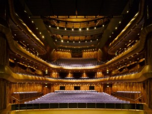 Het interieur van de grote zaal van het National Opera House (foto: Ros Kavanagh).