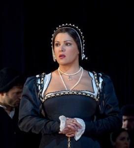 Scène uit Anna Bolena bij de Metropolitan Opera (foto: Ken Howard / Metropolitan Opera).