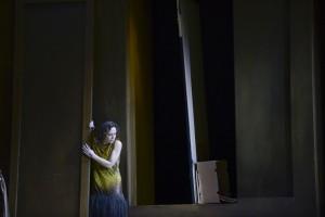 Evelyn Herlitzius in de productie van Elektra bij de Semperoper in Dresden (foto: Matthias Creutziger).