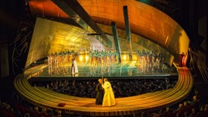 Scène uit Götterdämmerung van De Nationale Opera (foto: Marco Borggreve).