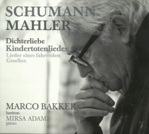 De nieuwe cd van Marco Bakker (coverbeeld: Sander Vos).