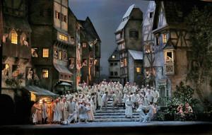 Een scène uit de productie van Otto Schenk (foto: Ken Howard / Metropolitan Opera).