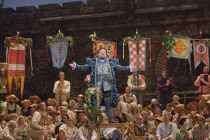 Johan Botha in Die Meistersinger von Nürnberg (foto: Ken Howard / Metropolitan Opera).