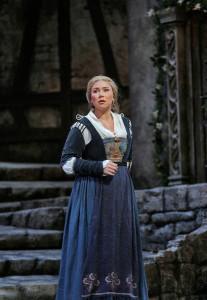 Annette Dasch in Die Meistersinger von Nürnberg (foto: Ken Howard / Metropolitan Opera).
