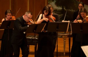 Het Boston Early Music Festival Orchestra (foto: Kathy Wittman).
