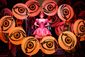 Scène uit Les contes d'Hoffmann (foto: Marty Sohl / Metropolitan Opera).