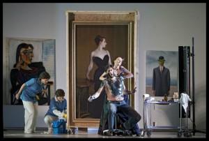 Scène met Roberto Tagliavini als Lord Sydney (foto: Clärchen & Matthias Baus).
