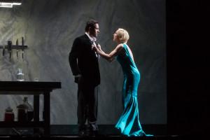 Scène uit Hertog Blauwbaards burcht (foto: Marty Sohl / Metropolitan Opera).