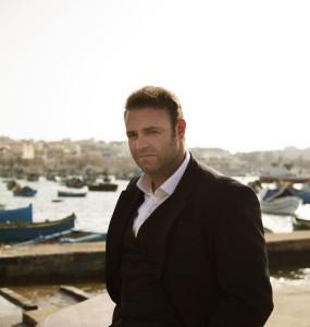 Joseph Calleja op Malta (foto: Simon Fowler / Decca).