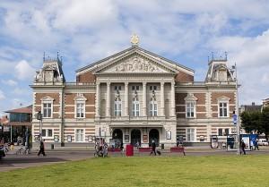Het Koninklijk Concertgebouw aan het Museumplein in Amsterdam (foto: Leander Lammertink).
