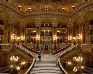 Het interieur van het Palais Garnier (foto: Benh LIEU SONG).