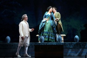 Scène uit The Ghosts of Versailles (foto: Craigh Matthew / Los Angeles Opera).