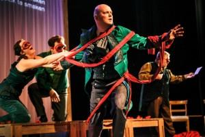 Scène uit Händel Revue (foto: Lennart Monaster).