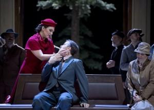 Annette Dasch en Joseph Kaiser in Juliette (foto: Monika Rittershaus).