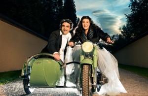 Rolando Villazón en Cecilia Bartoli treden voor het eerst samen op (foto: Douglas Kirkland for Zeiss Art Calendar).