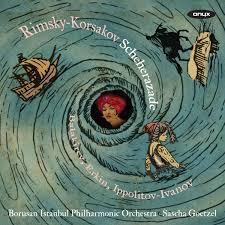 Op zijn laatste cd speelt het Borusan Istanbul Philharmonic Orchestra werken van Rimsky-Korsakov, Balakirev, Ippolitov-Ivanov en Erkin.