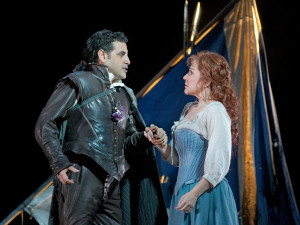 Juan Diego Flórez en Joyce DiDonato in La donna del lago (foto: Ken Howard / Metropolitan Opera).