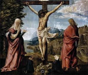 Het Stabat Mater beschrijft het verdriet en lijden van Maria bij het kruis van Jezus Christus.