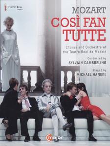 Hanekes Così fan tutte is uitgebracht op dvd bij C Major.