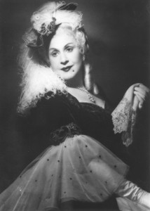 Hildegard Zadek als Marschallin.