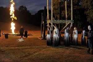 Scène uit King Arthur (foto: Ben van Duin).