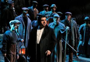 Luca Salsi als Enrico in Lucia di Lammermoor (foto: Cory Weaver / Metropolitan Opera).