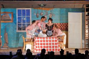 Scène uit Pagliacci in de regie van David McVicar (foto: Cory Weaver / Metropolitan Opera).