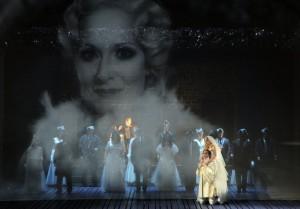 Scène uit Vanessa bij het Theater Hagen (foto: Klaus Lefebvre).