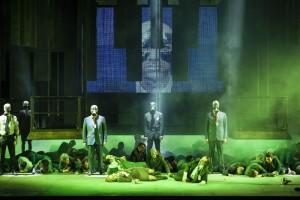 Scène uit Un ballo in maschera (foto: Johan Jacobs / De Munt).