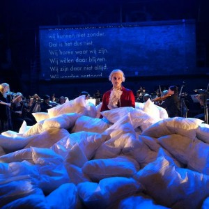 In bed with Mozart  (foto: Operadagen Rotterdam).
