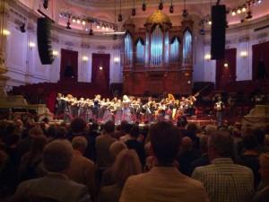 Eva-Maria Westbroek in de 12 Hour Prom in het Concertgebouw (foto: Place de l'Opera).