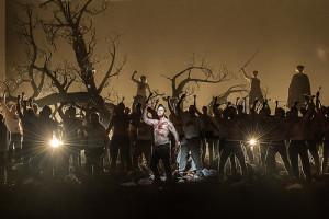 Scène uit Damiano Michieletto's productie van Guillaume Tell (foto: Clive Barda).