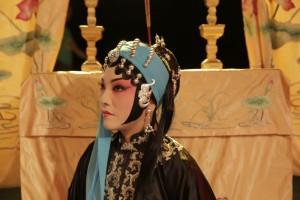 Sterzangeres Shen Tiemei in Het Innterlijke Landschap (foto: Jia Zhao).
