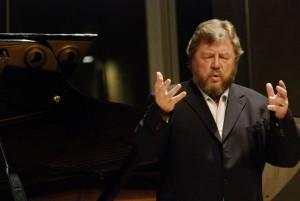 Robert Holl is één van de vocale gasten in het seizoen 2015/2016 van de Edesche Concertzaal (foto: Elisabeth Melchior).