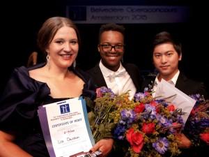 Lise Davidsen, Levy Sekgapane en Ki Hun Park (foto: Paul van Wijngaarden).