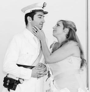 Artavazd Sargsyan en Silvia Dalla Benetta zingen de hoofdrollen in de eerste van vijf volledige operaproducties: L'inganno felice van Rossini (foto: Roxana Vlad).