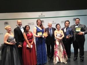 Alle prijswinnaars van Operalia 2015 (foto: Operalia / www.operaliacompetition.org).