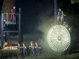 Scène uit The Day After, de wereldpremière waarmee Holland Opera afgelopen weken zijn seizoen beëindigde.