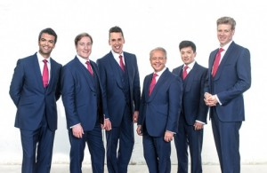 The King's Singers (foto: Chris O'Donovan).