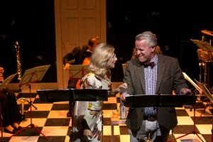 Rosemary Joshua en Nicolas Mansfield in Façade (foto: Ronald Knapp).