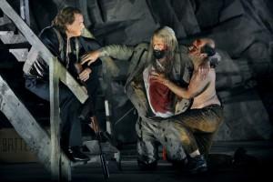 Scène uit Siegfried (foto: Bayreuther Festspiele / Enrico Nawrath).