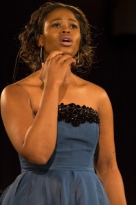 Vorig jaar gaf Pretty Yende een succesvol recital in de Église in Verbier (foto: Aline Paley). Dit jaar trad ze op tijdens verschillende concerten in de Salle des Combins, de hoofdlocatie van het festival.