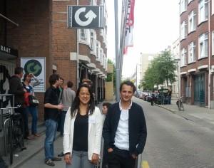 Romy (l) en Gable (r) Roelofsen (foto: Place de l'Opera)