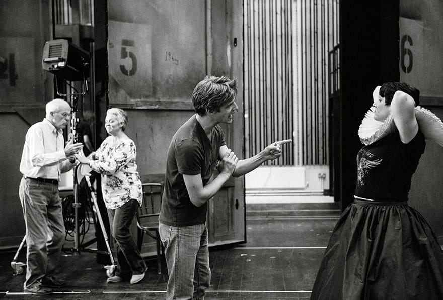 Quirijn de Lang repeteert bij Opera North.