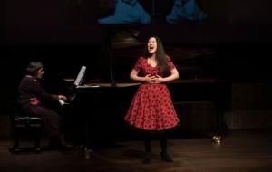 Elnara Shafigulina als Zemfira in Aleko (foto: Vanessa Fichter).